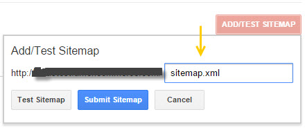submitting sitemap to google knowledge center